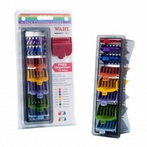 Набір насадок WAHL  8 шт, кольорові  03170-417, купити Набір насадок WAHL  8 шт, кольорові  03170-417